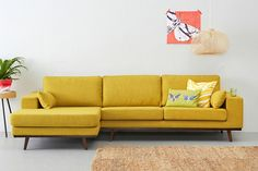 Yellow Sofa: A Sunshine Piece for Your Living Room!