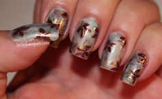 More eye shadow nail art