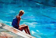 The Swimmer, Edward B. Gordon