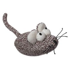 A sock mouse for your sock monkey...Sock Pals Mouse Cat Toy Filled with Catnip - Overstock™