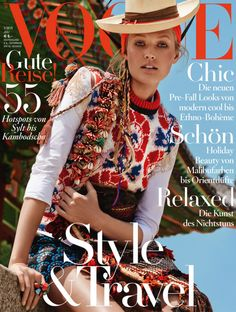 #ToniGarrn by #GiampaoloSgura for the cover of #VogueGermany July 2015
