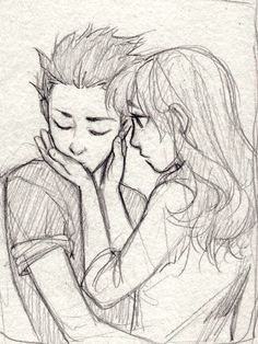 Anime drawing all kinds of pics pencil drawings, drawings и cute drawings. Cute Couple Drawings, Cute Couple Art, Anime Couples Drawings, Cool Art Drawings, Pencil Art Drawings, Art Drawings Sketches, Romantic Drawing, Cute Sketches, Drawing People