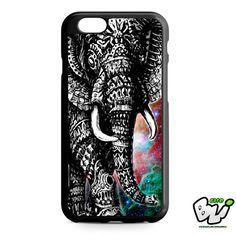 Aztec Black White Elephant iPhone 6 Case | iPhone 6S Case