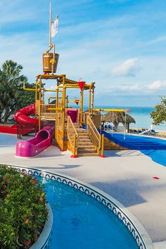 b8418491b Pirates Island Waterpark for teens   kids at Beaches Resorts. Each  waterpark in Jamaica and Turks   Caicos is filled with water slides