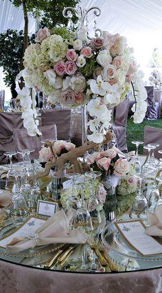 Luxury #Wedding Centerpiece - Keith Cephus Photography