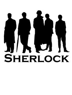 sherlock silhouette的圖片搜尋結果