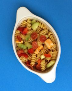 Be Different...Act Normal: Pepperoni Pasta Salad Recipe [Summer Salads]
