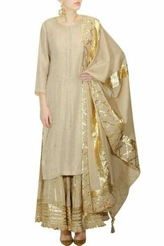 Extra Off Coupon So Cheap Indian New Designer Look Jam Cotton Gotta Work Stitiched Sharara Suit Pakistani Dresses, Indian Dresses, Indian Outfits, Indian Attire, Indian Wear, Ethnic Fashion, Asian Fashion, Women's Fashion, Dress Fashion