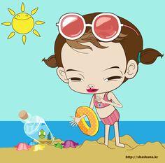 summer beach~!!