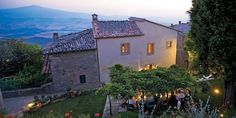 Monteverdi Tuscany, located in the medieval village of Castiglioncello del Trinoro, offers private villas and a hotel made from breathtakingly beautiful stone structures.