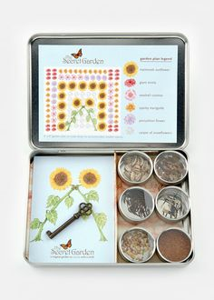 The Kid's Gardening Kit by Potting Shed Creations includes seeds and easy-to-follow instructions for cultivating an enchanting flower garden. $25 from @Rodale's