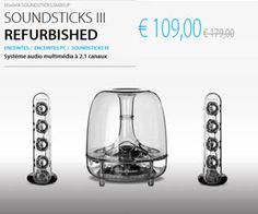 Outlet Harmankardon.com : Soundsticks III Refurbished à 109 euros avec livraison gratuite