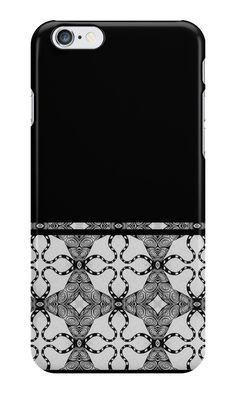 """""""Texture black-and-white, nostalgic"""" iPhone Cases & Skins by floraaplus   Redbubble"""