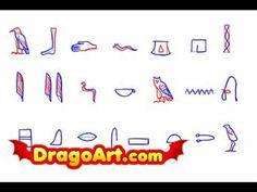 2nd Grade; Quarter 3: Drawing Egyptian Hieroglyphics