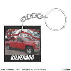 2014 Silverado 1500 LT Long Box Keychain