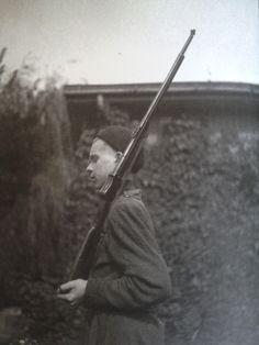 Photo taken by Edmund Baranowski during Warsaw Uprising, 1944.