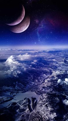 Earth Areal View - IPhone Wallpapers