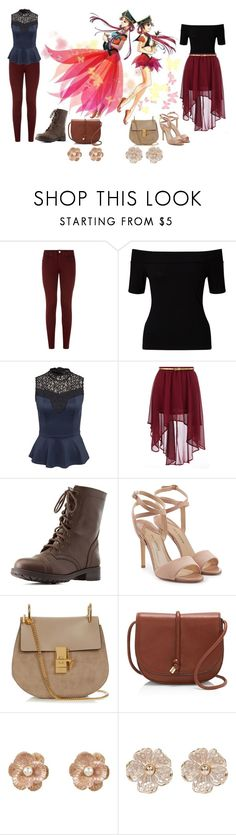 """Pretty Soldier Sailor Moon Stars Modern Day: Princess Kakyuu"" by becka-ramey on Polyvore featuring dVb Victoria Beckham, Miss Selfridge, ONLY, Dorothy Perkins, Charlotte Russe, Paul Andrew, Chloé, Vince Camuto, New Look and River Island"