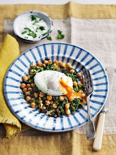 Using harissa makes this egg recipe an inventive and tasty midweek supper.