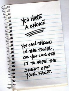 Choice is yours..