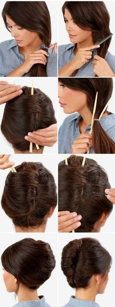 idée coiffure facile à faire