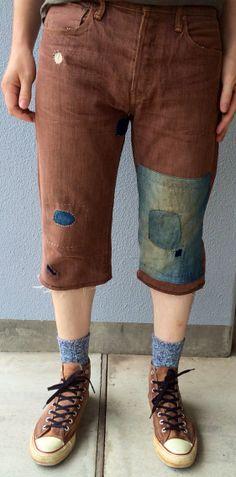 Wanderer Shorts by KiShoTen on Etsy, ¥20000