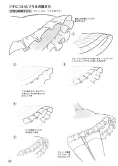 Tutorial on how to draw frills