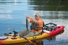 Choosing a fishing kayak for beginners may not seem as simple as it sounds. Read our list of five kayaks for beginners, and make an intelligent step to find the best fishing kayak. Best Fishing Kayak, Kayak Camping, Trout Fishing, Saltwater Fishing, Fishing Lures, Ice Fishing, Fly Fishing For Beginners, Fishing Tricks, Kayaking Tips