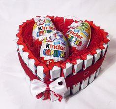 14 февраля : ) Торты, букеты, подарки из Киндер , рафаэлло и конфет - Подарки и сувениры во Владивостоке