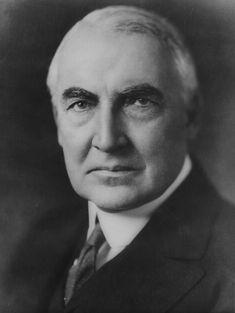29 - Warren G. Harding 1921-1923
