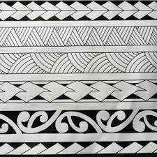 Imagem relacionada #samoantattoosband #polynesiantattoosleg