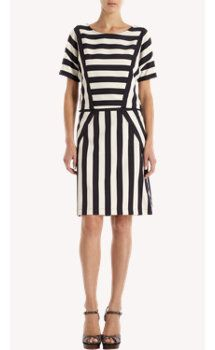 Marc by Marc Jacobs Multi-Stripe Dress