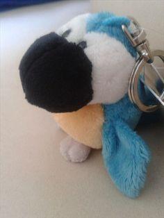 Vito the Blue Parrot