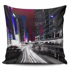 Cojin Decorativo Tayrona Store  Ciudad Nocturna 01 - $ 43.200
