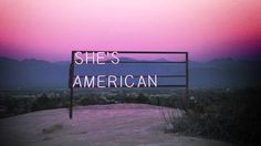 'She's American' by The 1975 // #music #electronic #electro #synthwave #dreamwave #retrowave // Bought their sophomore album a couple of weeks ago. They better release this as a single from it!
