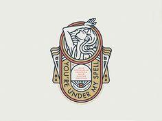 A feminine logo design in a modern bohemian style, vintage and art deco inspired. 2 Logo, Typography Logo, Logo Branding, Art Deco Typography, Lettering, Graphic Design Agency, Logo Type Design, Vector Logos, Art Deco Logo