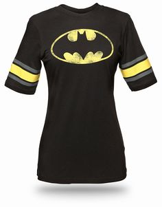 ThinkGeek :: Batman Hockey Stripe Babydoll