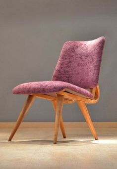 Cor Alons Attributed; Easy Chair for De Boer, 1950s.