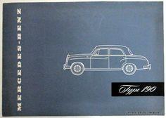 Mercedes Benz 1956 Type 190 Sales Brochure