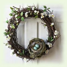 Pääsiäinen - pääsiäiskoristeet - rairuoho