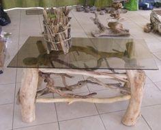 50 Id Es Pour La D Co Bois Flott Tables Et Salons