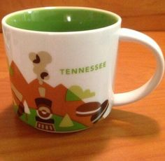 Starbucks You Are Here Mug Collection - Tennessee