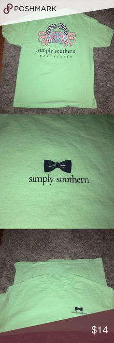 Simply Southern T-shirt In great condition! No stains or rips. Women's xl but does not have a size tag Simply Southern Tops Tees - Long Sleeve