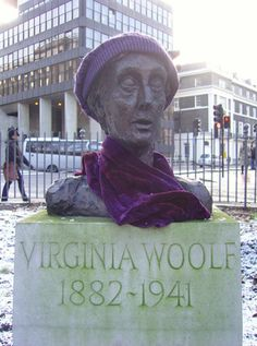 Although Tavistock Square is largely dominated by the Gandhi statue, this bust of Virginia Woolf (normally minus the hat and scarf) also resides there. The author wrote many of her books in her former residence on the square. The bust was sculpted from life in 1931, and was moved to its current home in 2004 by the Virginia Woolf Society of Great Britain.
