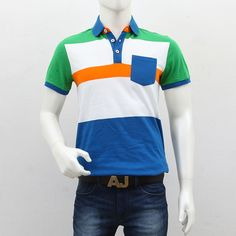 United Colors of Benetton – Blue Green White Striped Polo T-Shirt Polo T Shirts, Benetton, Shopping Sites, Men's Collection, Blue Green, Polo Ralph Lauren, Polo Shirts, Duck Egg Blue