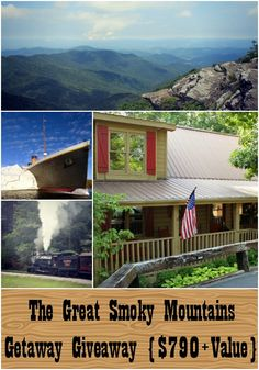 Great Smoky Mountains Getaway #Giveaway Ends 8/21 - Holyjeans and My Favorite Things