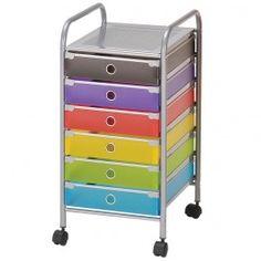 Jysk.ca - INSPACE Storage Cart - 6 Drawer