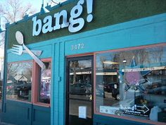 """bang! Restaurant - 3472 W. 32nd Ave. - Contemporary American cuisine. Featured on """"Diners, Drive-Ins & Dives."""" Voted Best New American Restaurant on Denver Channel 7's A-list. 5280 Magazine's Top of The Town for four years."""