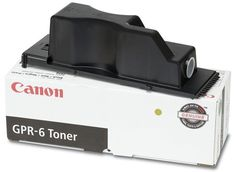 Canon GPR-6 Toner for Select ImageRunner Copiers, Black (6647A003AA)
