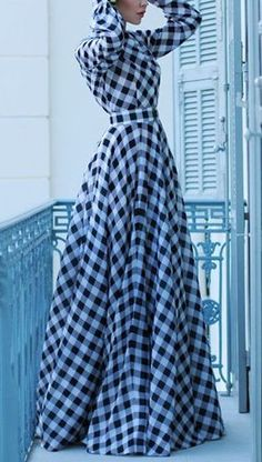 Ultra Chic Gingham Outfit